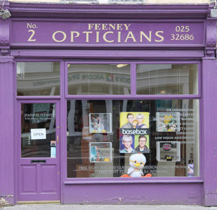 Feeney Opticians | Opticians Fermoy | Opticians North Cork